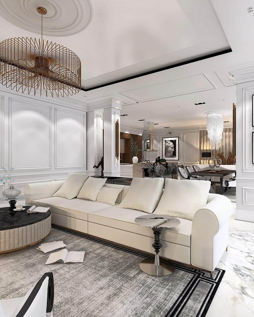 Glamorous Living Room Ideas   Constantin Frolov Interior Design