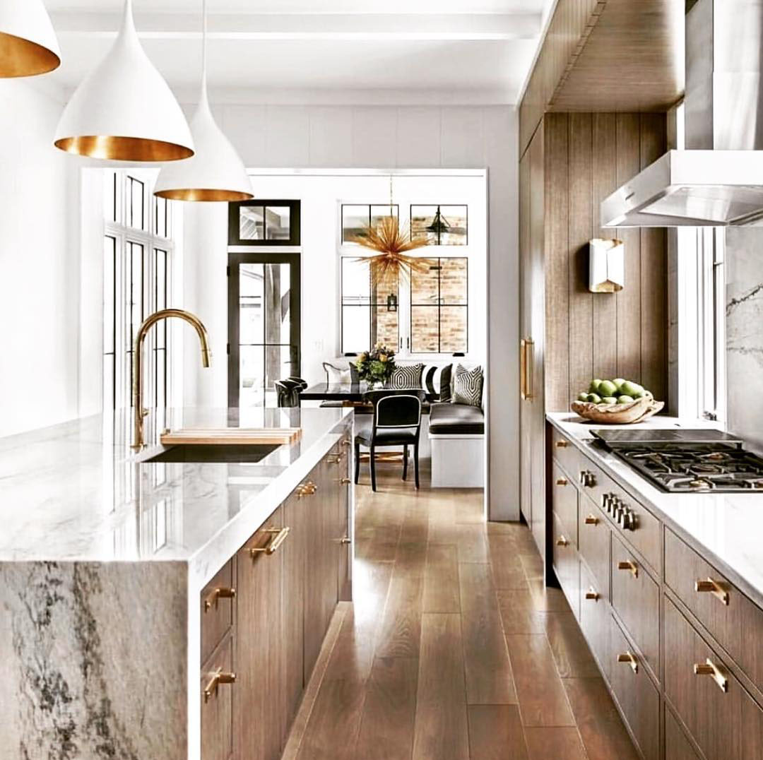 Elegant Kitchen by Obrien Harris Cabinetry