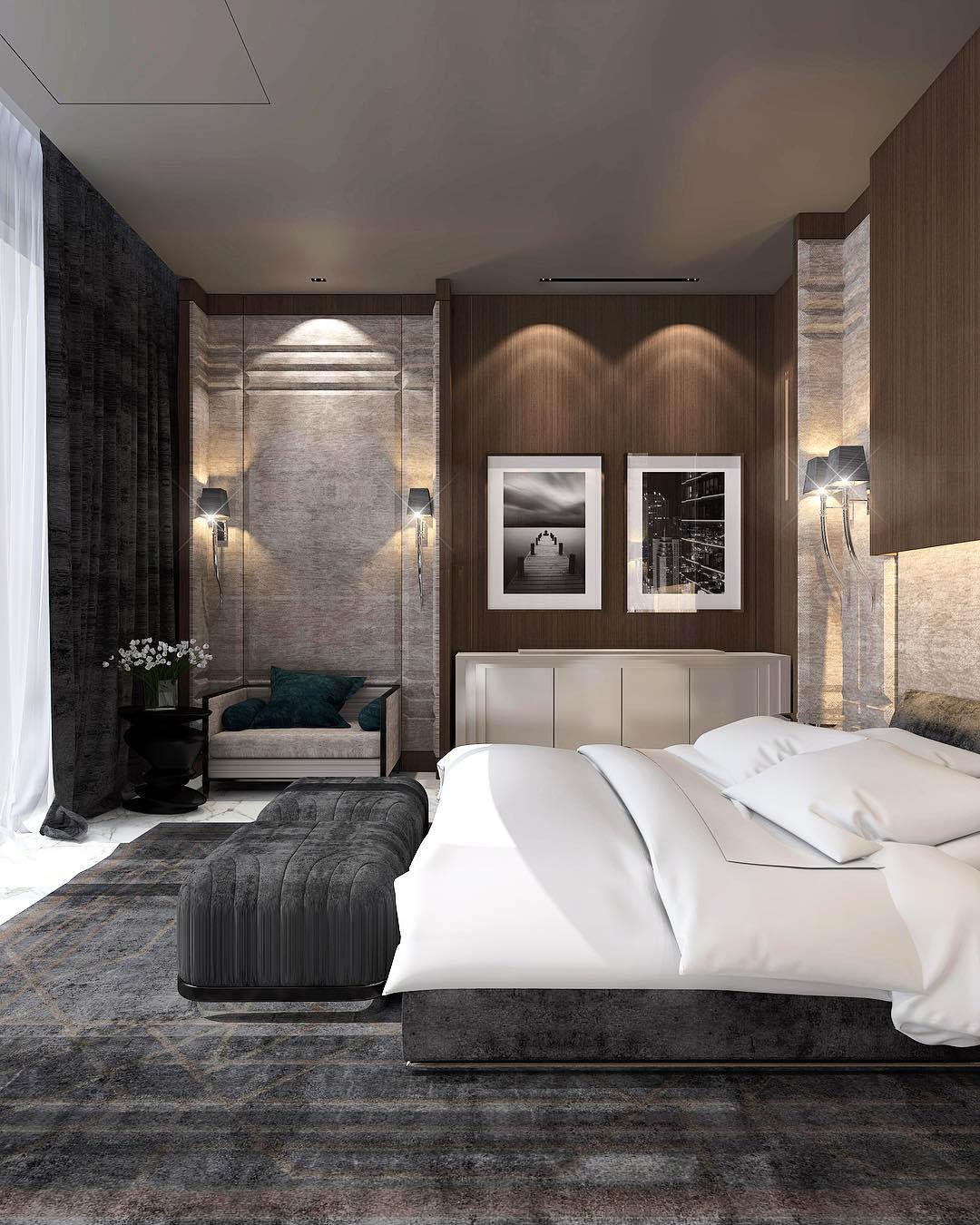 Constantin Frolov Interior Design   Luxurious Bedroom Ideas