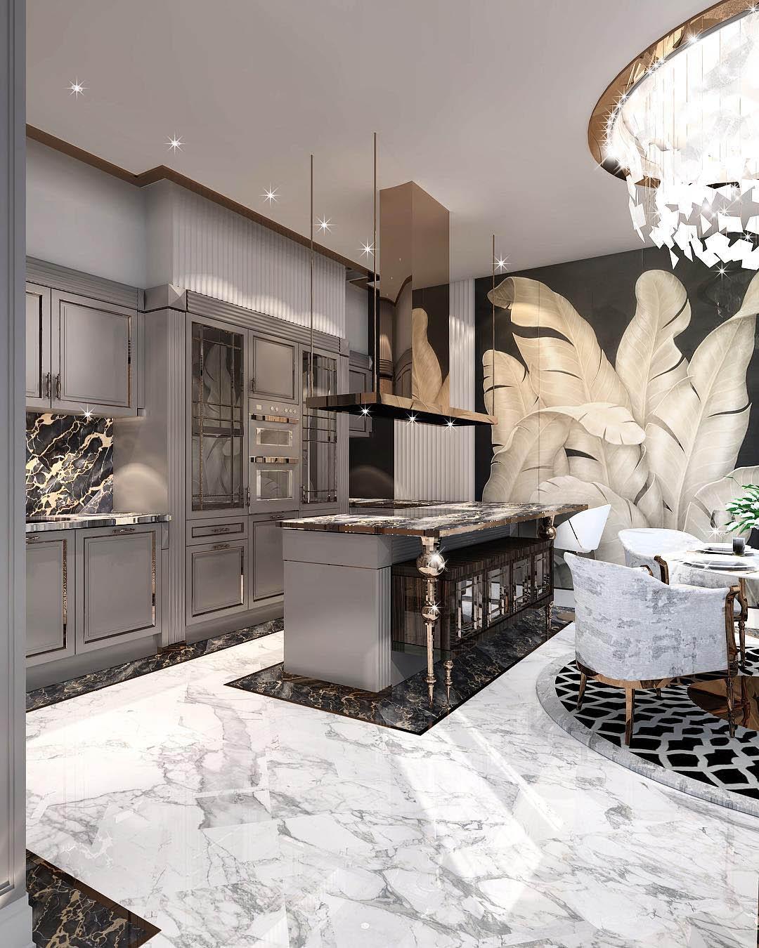 Constantin Frolov Interior Design | Glamorous Interiors