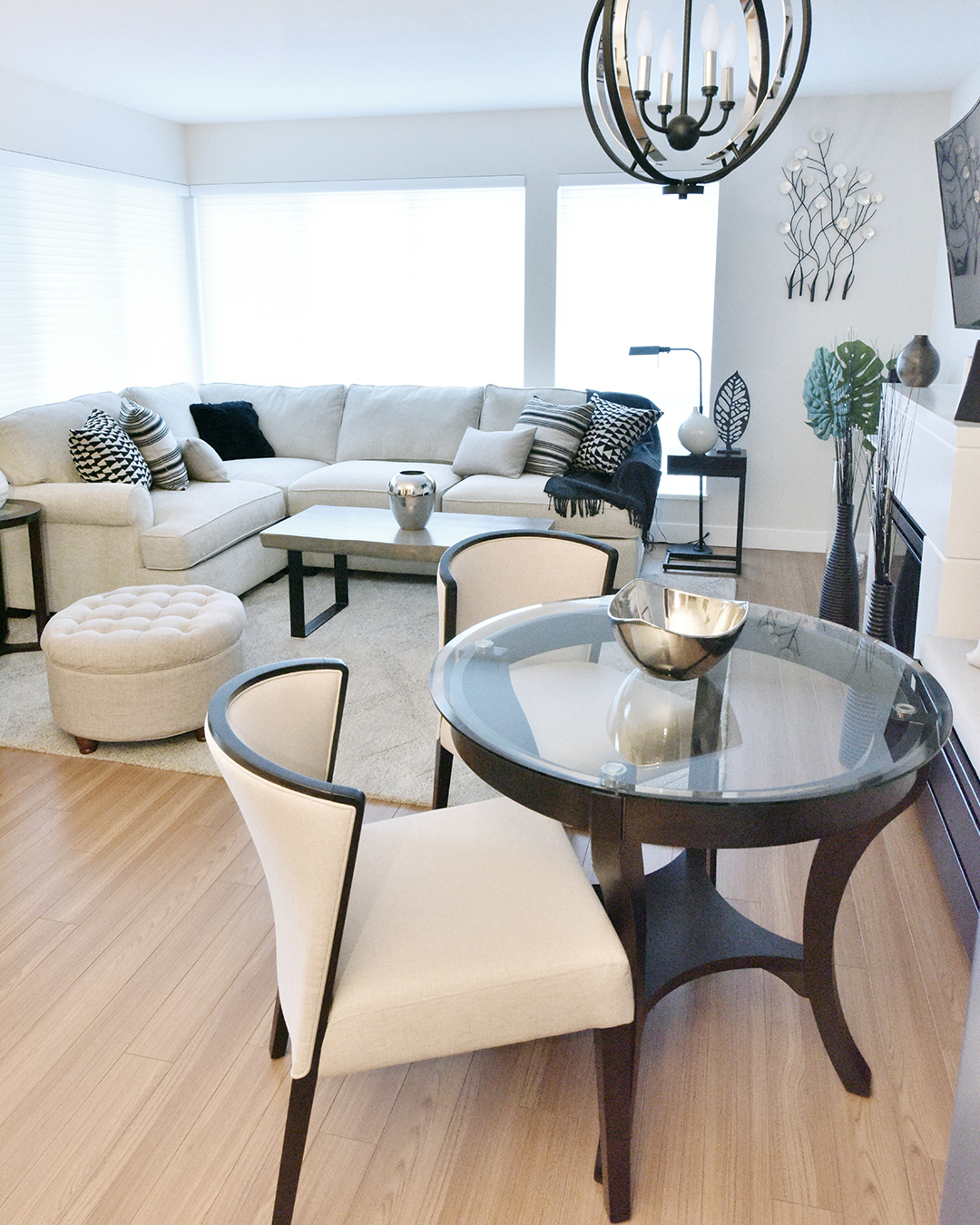 Small Condo Decorating Ideas | Buyer Select Blog | Designed by Tracy Svendsen