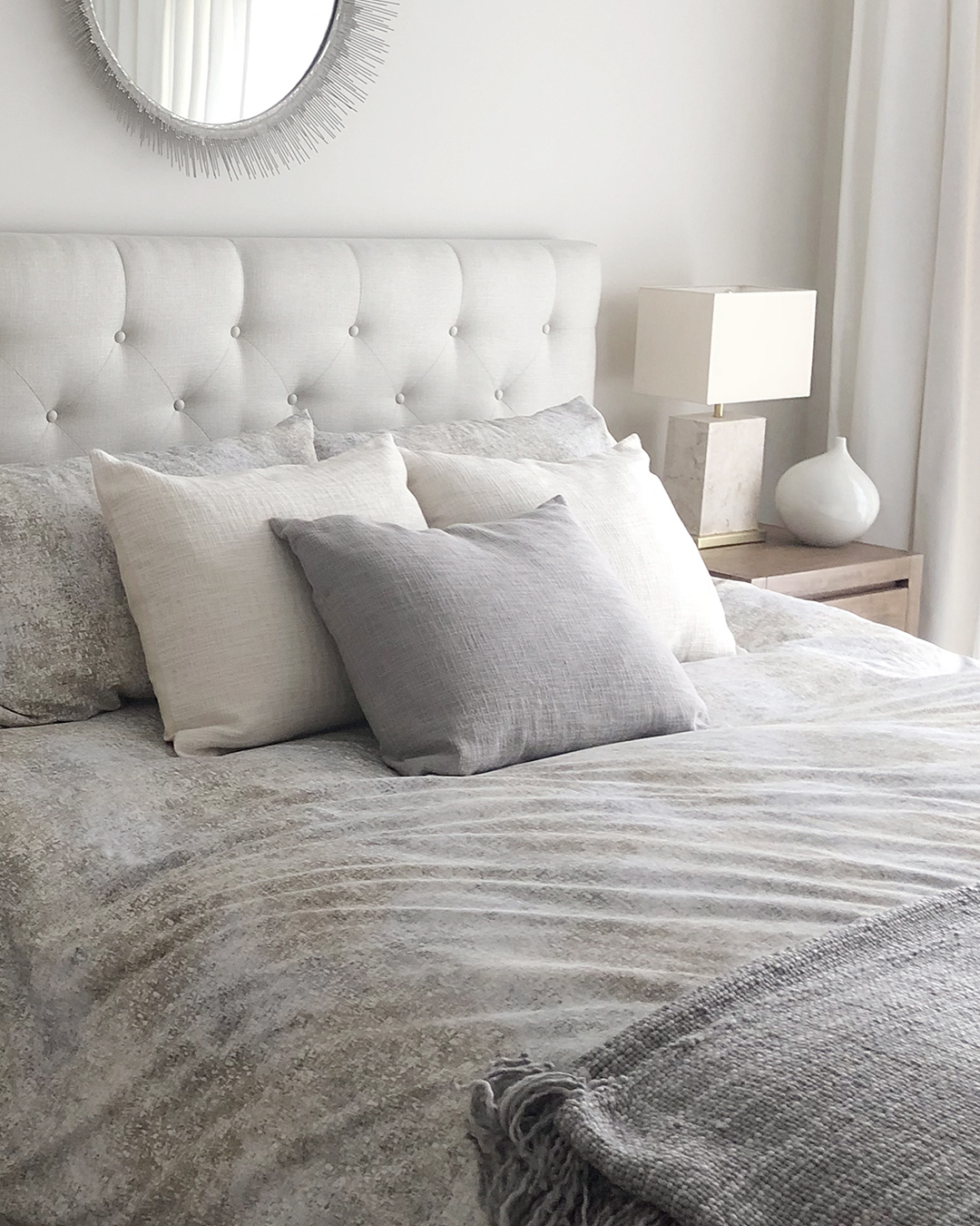 Small Apartment Bedroom Designed by Tracy Svendsen