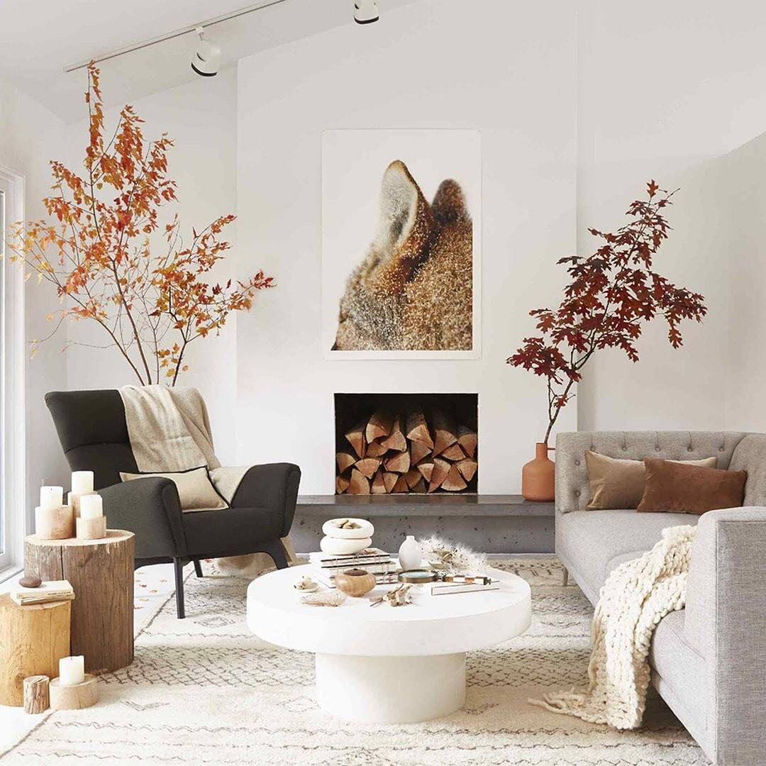 Scandinavian Fall Interior | Mary Jo Hoffman