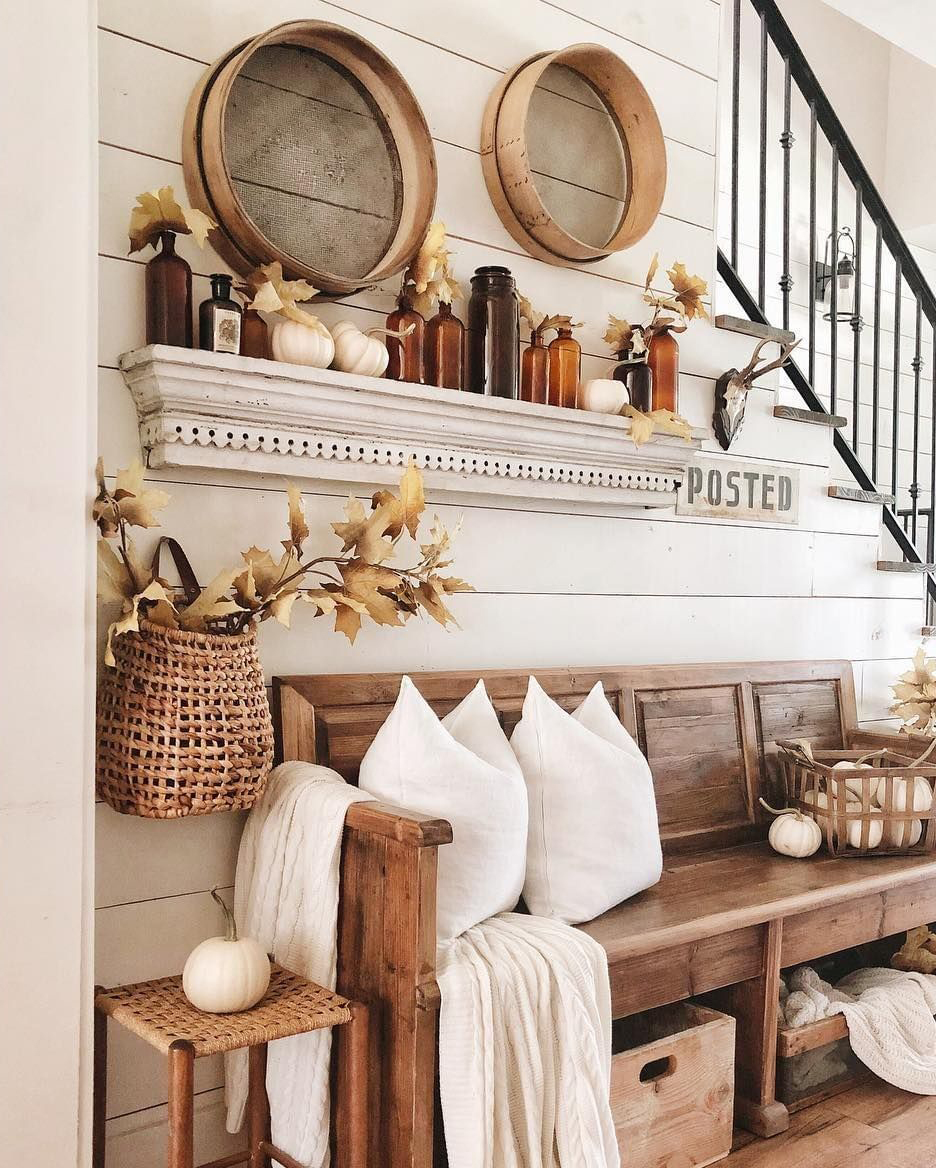 Fall Entranceway | Whitetail Farmhouse