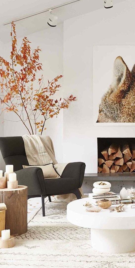 Scandinavian Fall Interior | Mary Jo Hoffman