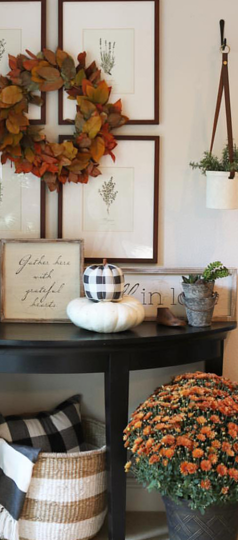 Fall Entranceway | The Design Twins