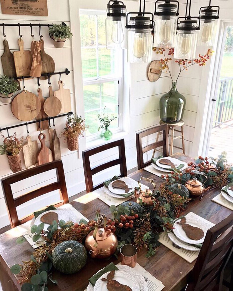 Farmhouse Thanksgiving | Cottonwood Acres