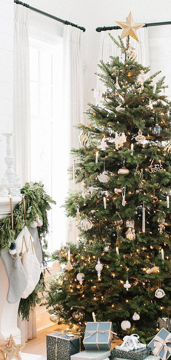 Christmas Tree Ideas | The Lovely Deco