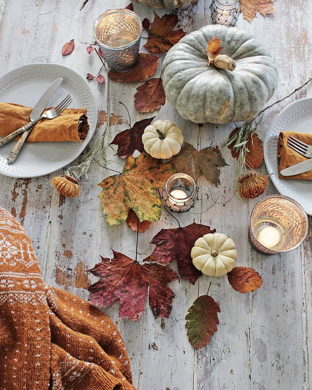Fall Tablescape Ideas | Vibeke Design