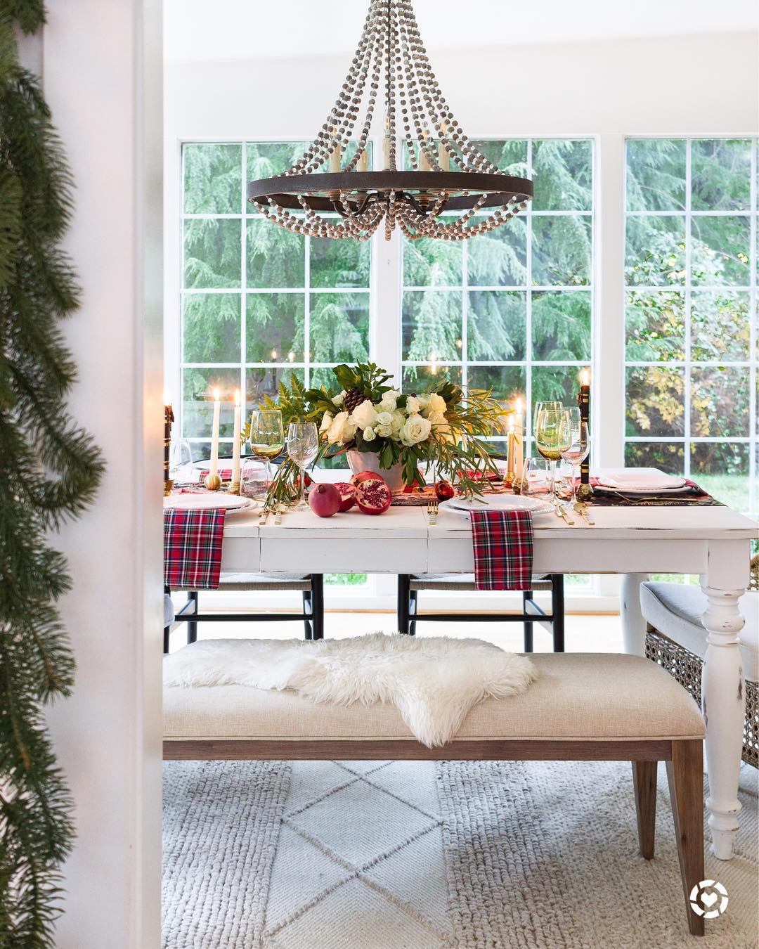 Christmas Tablescape Ideas | ZevyJoy Blog