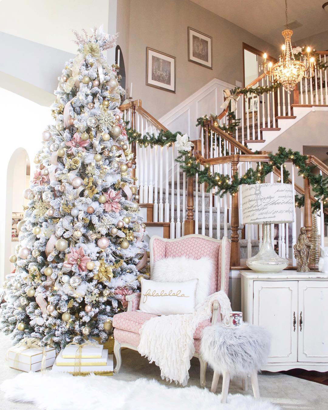 Elegant Christmas Tree | Styled with Lace