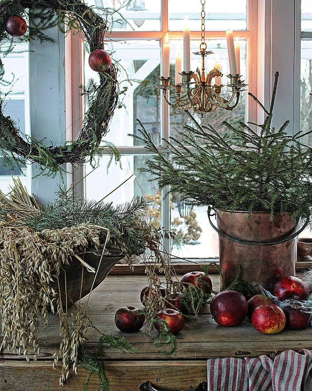 Farmhouse Christmas | Design by Vibeke