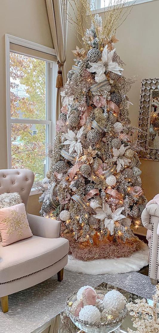 Feminine Christmas Tree