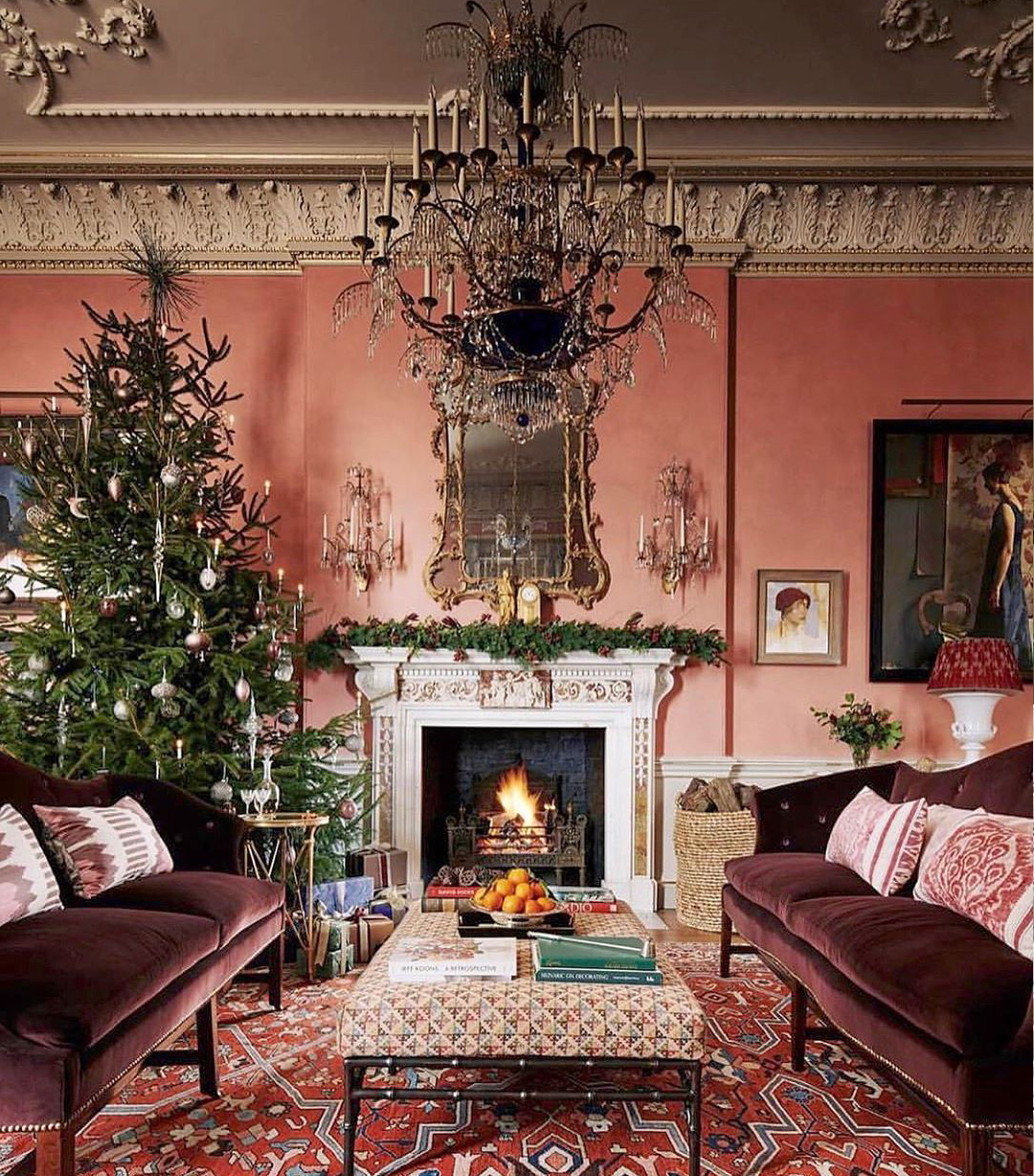 Stunning Holiday Living Room