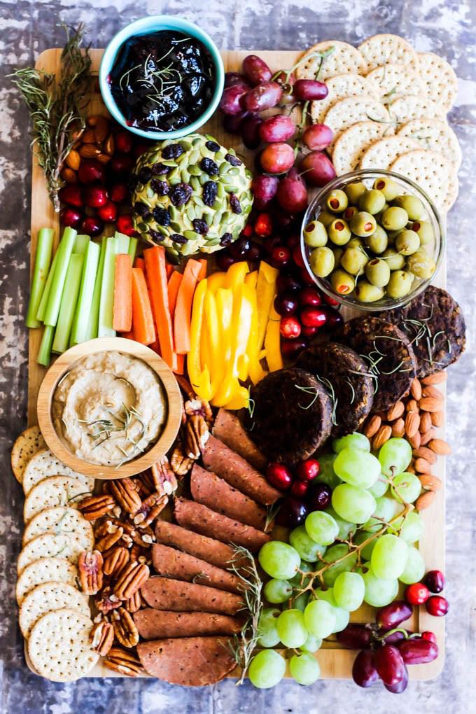 Vegan Charcuterie Board | Emilie Eats