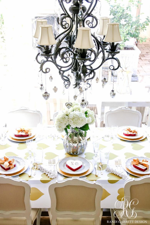 Valentine's Day Table Setting Ideas | Randy Garrett Design