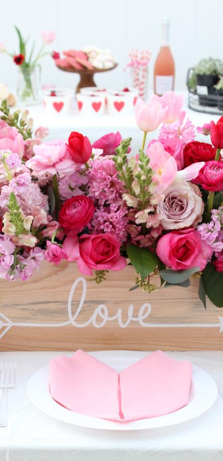 Valentine's Table Ideas | Tonality Designs