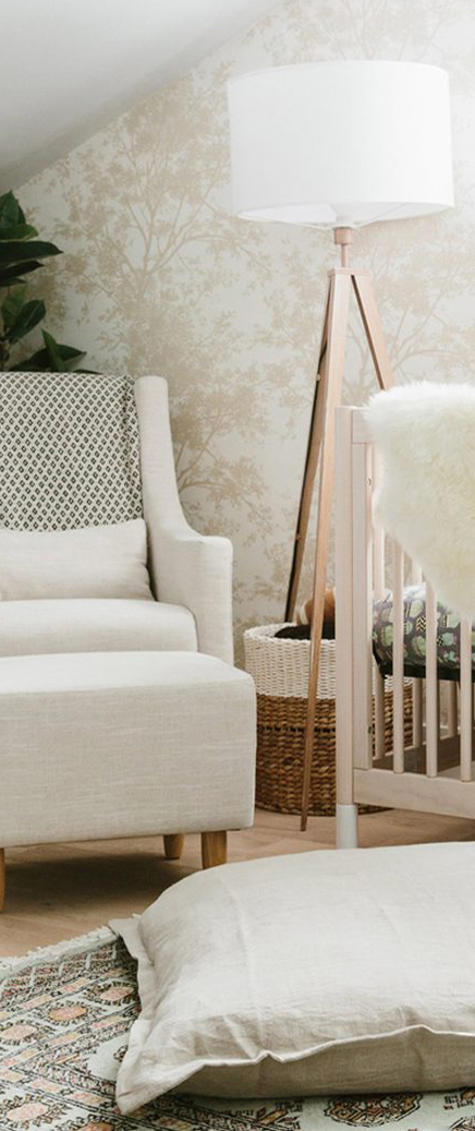 Mini Sheepskin Rug in Ivory