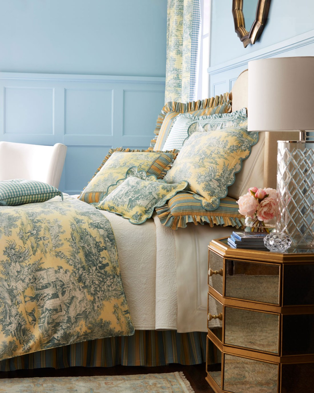 Legacy Lutece Cypress Toile Duvet Cover