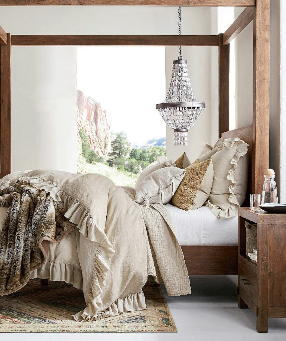 Sustainable Bedding | Pottery Barn Pre-Fall 2019 Catalog