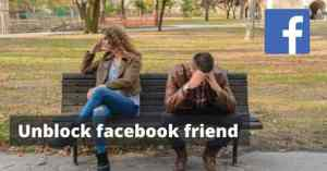 Unblock facebook friends | how to unblock someone on facebook
