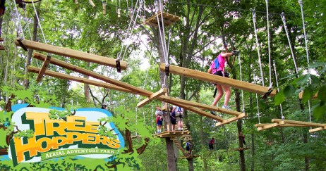 tree hoppers aerial adventure park