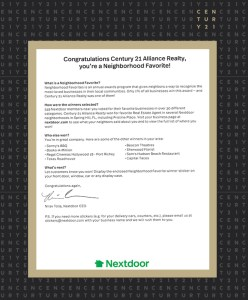 Your Favorite Neighborhood Real Estate Company