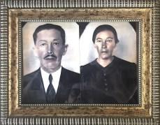 Avô Firmiano e avó Mariana