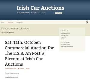 irish car auctions