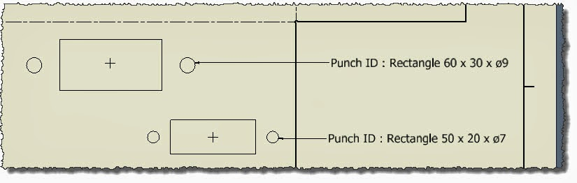 Customise Punch Notes for the Table Driven Sheet-Metal Punch Tool