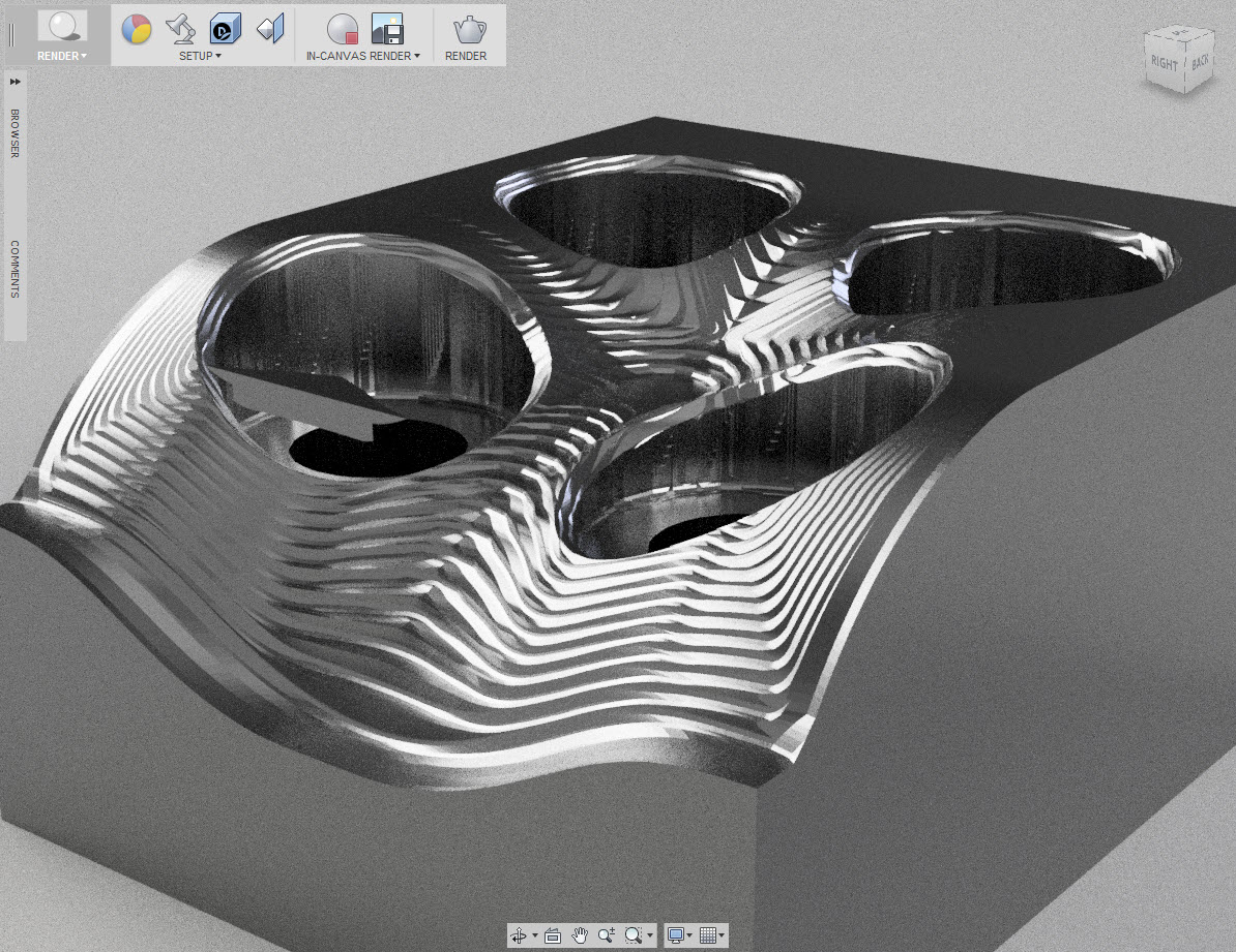 Beautiful machining or not so beautiful? That is the question.
