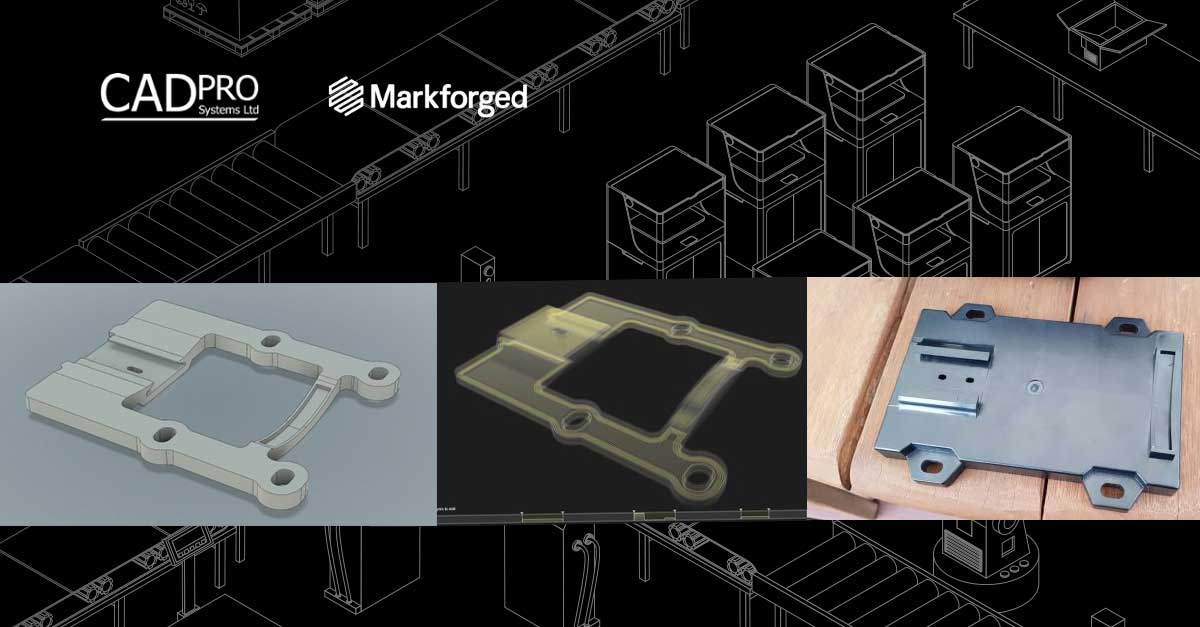 Markforged 3D Printer Makes Part for Pump