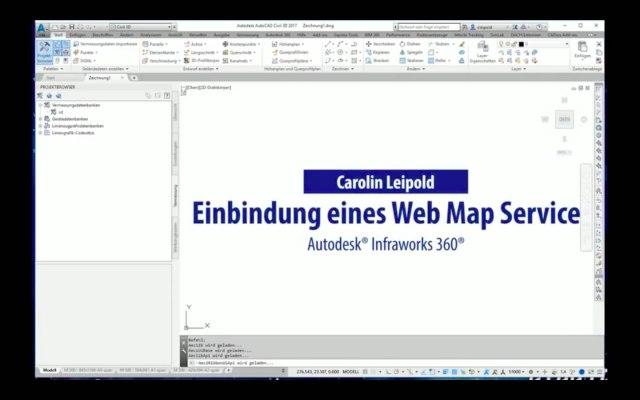 WMS (Web Map Service) in Autodesk® AutoCAD® Civil 3D® einbinden - CADsys