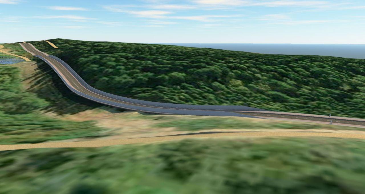 Brückenplanung mit Autodesk InfraWorks, Civil 3D, Dynamo und Revit -01_Brücke Trasse Bestand
