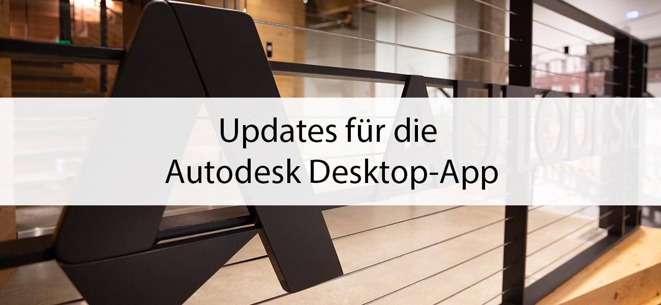 Update der Autodesk Desktop App & SOFiSTiK Reinforcement