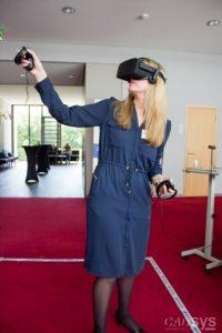 Virtual Reality Präsentation auf dem CADsys Inventor Day 2017