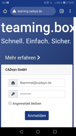 Teaming Box