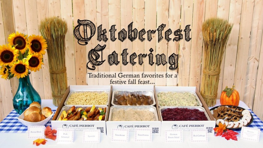 oktoberfest catering for a festive fall feast from cafe pierrot in nj