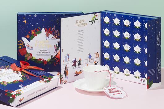 Kalendarz adwentowy z herbatą