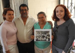 Ciara, Lazaro and his family.