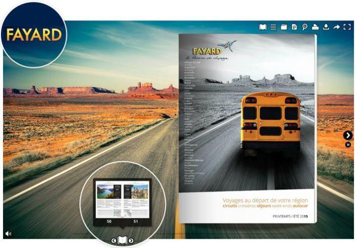 Voyages FAYARD - Brochure Printemps / Été 2015