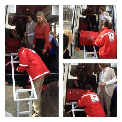 Cambro Camcarrier in use at Red Cross