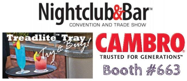 Cambro at Nightclub and Bar Show - Las Vegas