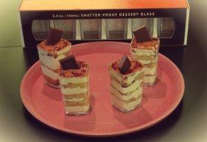 Cambro Mini Dessert Glass - Mini Tiramisu