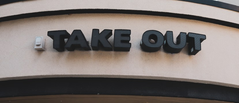 Takeout header