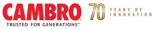 Cambro 70th Anniversary logo