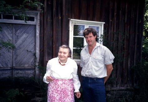 Elsa Lundh och Stefan Quinth