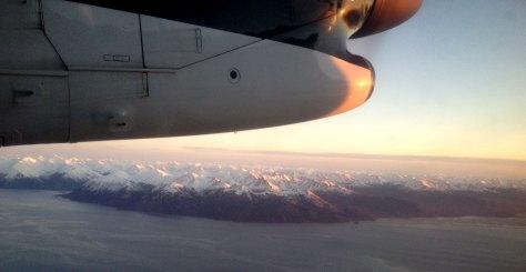 Flygbild från planet
