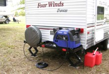 Yamaha Generator Shown On Four Winds Camping RV