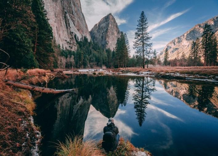 camping year round in Yosemite pines